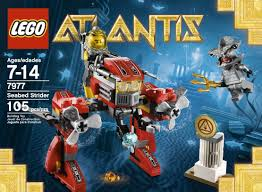 amazon com lego atlantis seabed strider 7977 toys u0026 games