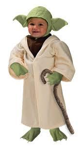 Star Wars Halloween Costumes Babies Geek Dress Kid Yoda Looked