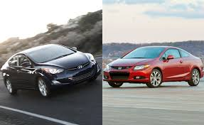 honda civic or hyundai elantra 2012 honda civic vs 2012 hyundai elantra car reviews