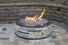 Fire Pit Kit Stone by Recycled Granite Fire Pit Kit