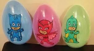 custom easter eggs custom jumbo pj mask easter eggs personalize a jumbo egg to
