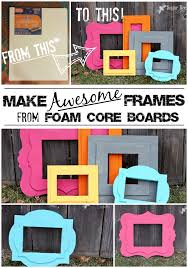 diy photo booth frame diy foam frames of awesomeness sugar bee crafts