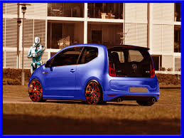 vw up gti back by unlimited concept on deviantart