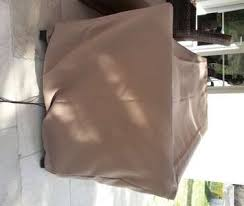 housse de protection pour canapé de jardin hivernage du salon de jardin l atelier c tout cousu