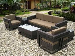 Best Patio Furniture Covers - modern black wicker outdoor furniture design all home decorations