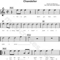 Download Chandelier By Sia Chandelier Sia Violin Thesecretconsul Com
