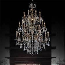 Antique Crystal Chandelier Brizzo Lighting Stores 40