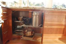 Kitchen Cabinets Burlington Corner Cabinet That Maximizes Space And Accessibility