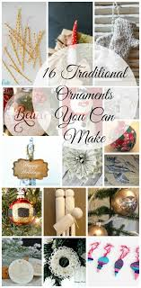 the best diy ornament roundup traditional ornament week i