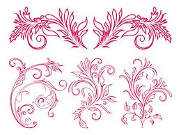 floral ornaments graphics free vectors ui