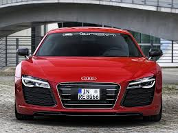 Audi R8 Front - wallpaper of audi r8 e tron prototype front for desktop wallpapers