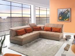 modèle canapé canapé d angle modulable cuir et tissu modèle edy magasin de