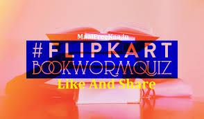 flip kart flipkart book worm quiz contest win flipkart vouchers free