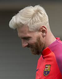 lionel messi blonde hairstyle 2016 inspirationseek com