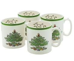 spode tree 9 oz mugs set of 4 60 you save 60 00