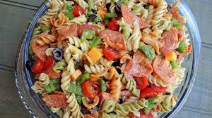 salad pasta perfect pasta salad recipe genius kitchen