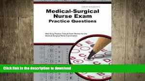 Surgical Nurse Job Description Read Medical Surgical Nurse Exam Practice Questions Med Surg