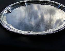 engraved silver platter engraved silver etsy