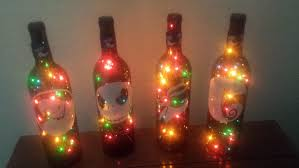 wine bottle christmas lights christmas lights decoration