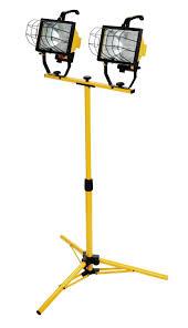 work light tripod worklight portable 1000 watt halogen lamps tool