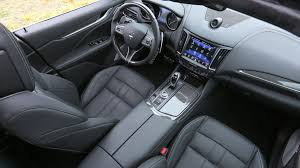 maserati levante interior back seat maserati levante diesel 2016 review by car magazine