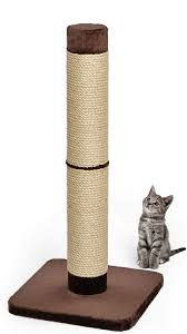 midwest feline nuvo grand forte 41 inch cat scratching post