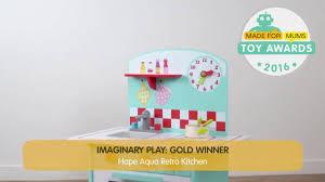 hape aqua retro kitchen gold winner youtube
