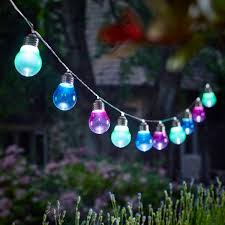 solar powered outdoor light bulbs blue outdoor solar lights outdoor designs