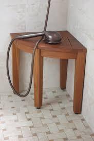 best 20 teak shower stool ideas on pinterest shower bench teak teak shower bench from the corner collection
