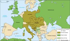 map of earope file map europe alliances 1914 es svg wikimedia commons