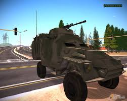 army jeep with gun patriot for gta san andreas