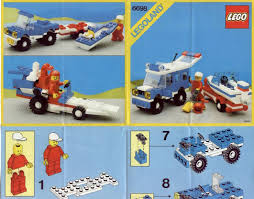 lego police jeep instructions lego rv with speedboat instructions 6698 city