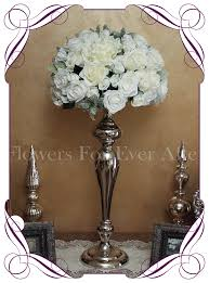 hire u2013 white dome on silver stand flowers for ever after
