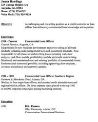 commercial loan officer sample cover letter resume template info