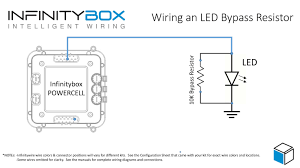 wiring an led u2022 infinitybox