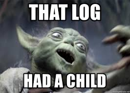 Meme Generator Yoda - that log had a child yoda falling meme generator
