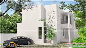 simple contemporary modern house kerala home design and floor plans