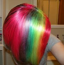 how i dye my hair rainbow youtube cool hair pinterest kool