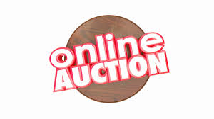 auction bid auction bid gavel animated motion background
