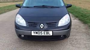 renault scenic 2005 7 seater 2005 renault grand scenic megane 2 0 16v auto video review youtube