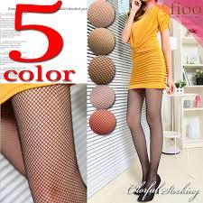 sexy color fioo rakuten global market 5 color pantyhose net tightsladies