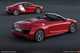 corvette vs audi r8 audi r8 v10 spyder fourtitude com