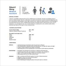 Medical Assistant Sample Resumes by 24 Best Medical Assistant Sample Resume Templates Wisestep