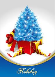 christmas tree and gifts vector free vector 4vector