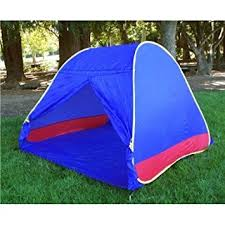 Baby Camping Bed Amazon Com Blue Portable Pop Up Play Tent Bed Playpen Baby