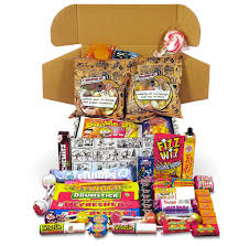 best retro sweets cartoon box selection your childhood sweetshop