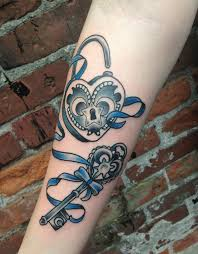 50 inspiring lock and key tattoos art and design