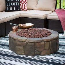 Hampton Bay Outdoor Fireplace - hampton bay 30 in cross ridge durable outdoor gas fire pit table