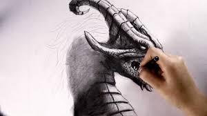 dragon speed drawing youtube