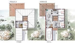 plan maison etage 4 chambres 1 bureau maison ossature bois à étage 115 m 4 chambres